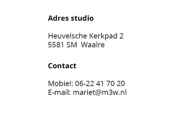 M3W Adres en Contact